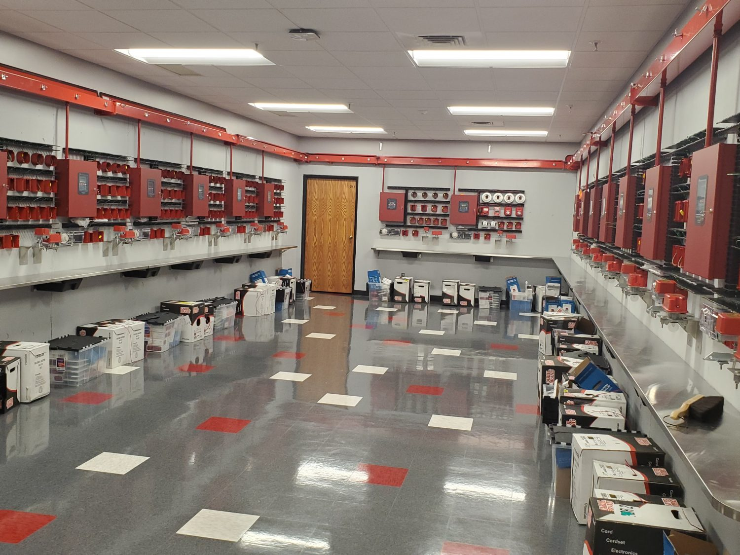 The Electrical Trades Center Fire Alarm Lab