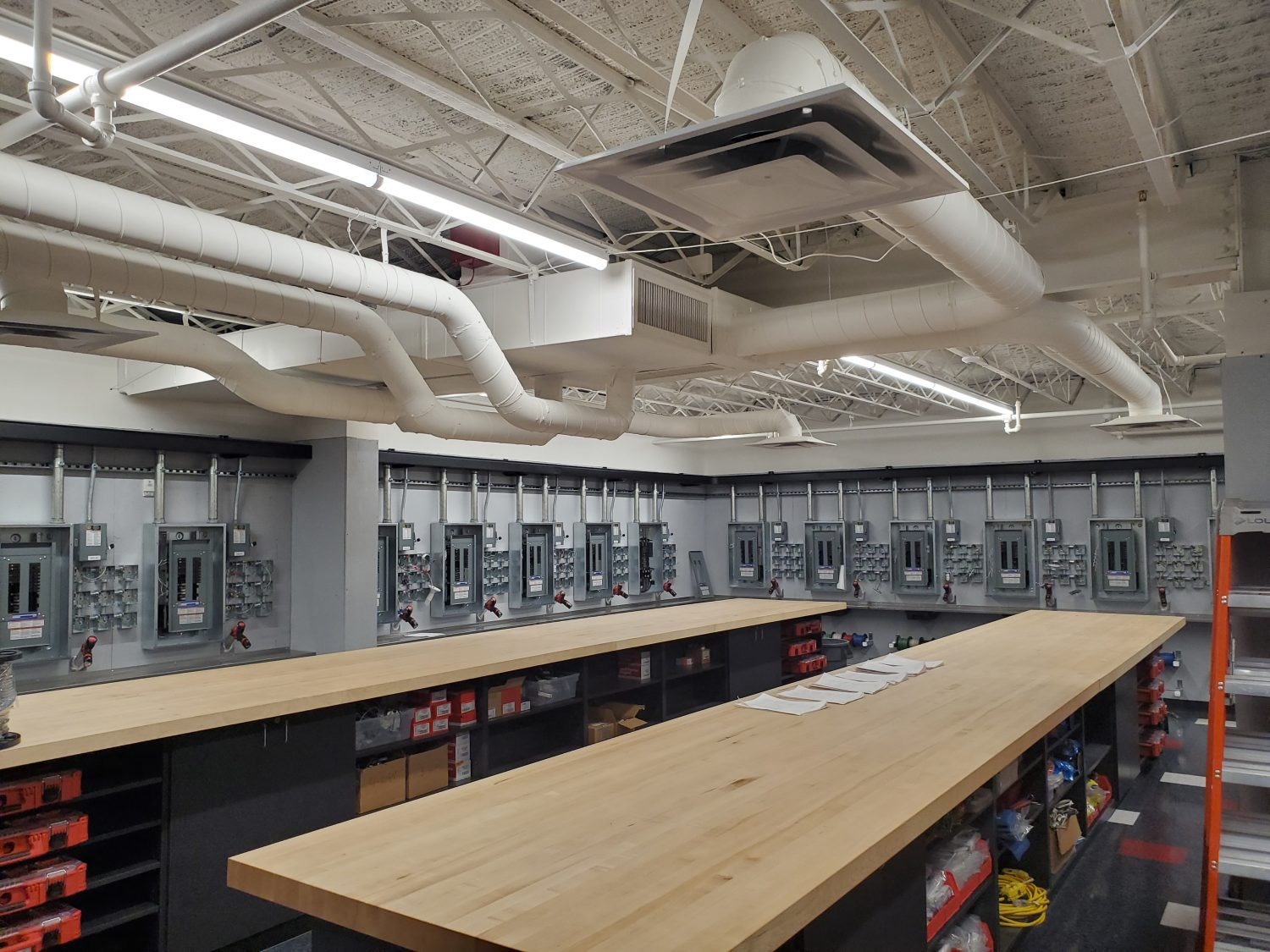 Electrical Trades Center Completes Renovation On BICSI And Wiring Method Lab